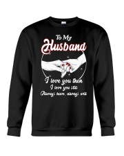 To-My-Husband Crewneck Sweatshirt thumbnail