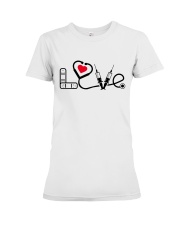Love Nurse Premium Fit Ladies Tee thumbnail