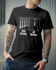 YOUR WRENCH MY WRENCH Classic T-Shirt lifestyle-mens-crewneck-front-6