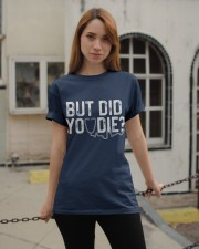 But Did You Die Funny Nurse  Classic T-Shirt apparel-classic-tshirt-lifestyle-19