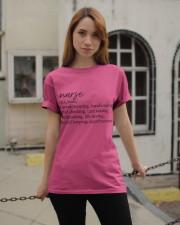 Nurse Definition Classic T-Shirt apparel-classic-tshirt-lifestyle-19