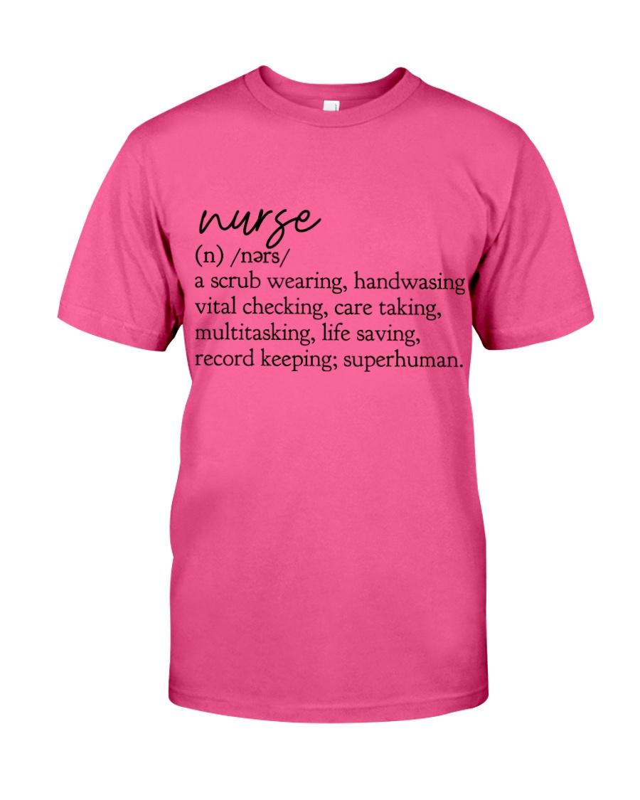 Nurse Definition Classic T-Shirt