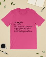 Nurse Definition Classic T-Shirt lifestyle-mens-crewneck-front-19