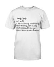 Nurse Definition Classic T-Shirt tile