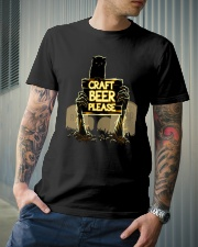 CRAFT BEER PLEASE Classic T-Shirt lifestyle-mens-crewneck-front-6