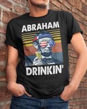 Abraham Drinkin' Classic T-Shirt apparel-classic-tshirt-lifestyle-26