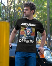 Abraham Drinkin' Classic T-Shirt apparel-classic-tshirt-lifestyle-front-44