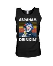 Abraham Drinkin' Unisex Tank thumbnail