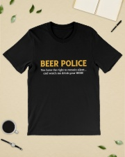BEER POLICE Classic T-Shirt lifestyle-mens-crewneck-front-19