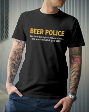 BEER POLICE Classic T-Shirt lifestyle-mens-crewneck-front-6