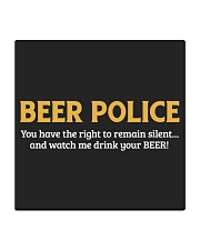 BEER POLICE Square Coaster thumbnail