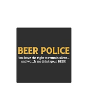 BEER POLICE Square Magnet thumbnail