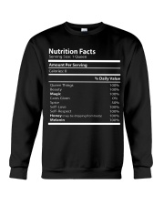 Nutrition facts Crewneck Sweatshirt thumbnail