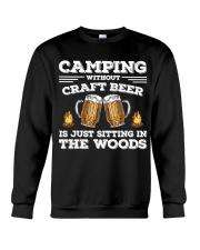 Camping Craft Beer Crewneck Sweatshirt thumbnail