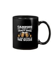 Camping Craft Beer Mug thumbnail