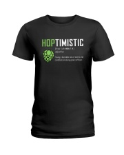 HOPTIMISTIC ADJ 1 Ladies T-Shirt thumbnail