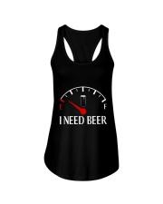 I need beer Ladies Flowy Tank thumbnail