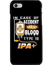 My blood type is IPA Phone Case thumbnail