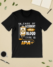 My blood type is IPA Classic T-Shirt lifestyle-mens-crewneck-front-19