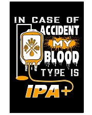 My blood type is IPA 11x17 Poster thumbnail