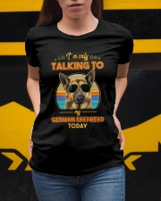 TALKING TO MY GERMAN SHEPHERD Ladies T-Shirt apparel-ladies-t-shirt-lifestyle-04