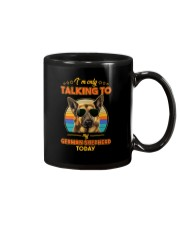 TALKING TO MY GERMAN SHEPHERD Mug thumbnail