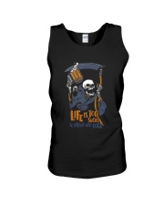 life is too short Unisex Tank thumbnail
