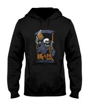 life is too short Hooded Sweatshirt thumbnail