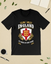 England it's where my story began Classic T-Shirt lifestyle-mens-crewneck-front-19
