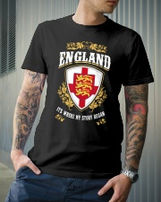 England it's where my story began Classic T-Shirt lifestyle-mens-crewneck-front-6
