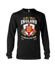 England it's where my story began Long Sleeve Tee thumbnail