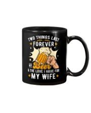 My Beer and my Wife Mug thumbnail