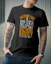 BREWING DAD BREWING BUDDY Classic T-Shirt lifestyle-mens-crewneck-front-6