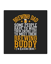 BREWING DAD BREWING BUDDY Square Coaster thumbnail