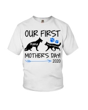 OUR FIRST MOTHER'S DAY 2020 Youth T-Shirt thumbnail