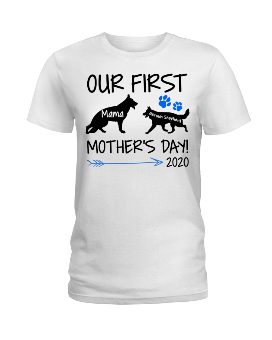 OUR FIRST MOTHER'S DAY 2020 Ladies T-Shirt