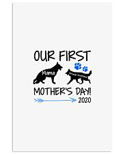 OUR FIRST MOTHER'S DAY 2020 16x24 Poster thumbnail