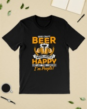 GOOD CRAFT BEER MAKES PEOPLE HAPPY Classic T-Shirt lifestyle-mens-crewneck-front-19