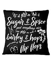 Barley and Hops Square Pillowcase thumbnail