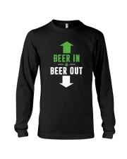 BEER IN BEER OUT Long Sleeve Tee thumbnail