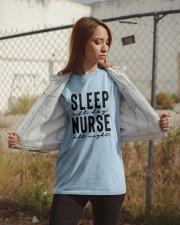 Sleep all day Nurse all night Classic T-Shirt apparel-classic-tshirt-lifestyle-07