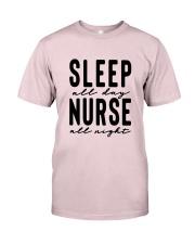 Sleep all day Nurse all night Premium Fit Mens Tee thumbnail