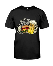 Beer bycicle Classic T-Shirt front