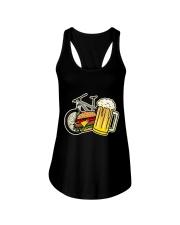 Beer bycicle Ladies Flowy Tank thumbnail