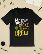 My broom broke so now i brew Classic T-Shirt lifestyle-mens-crewneck-front-19