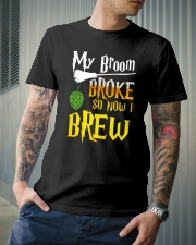 My broom broke so now i brew Classic T-Shirt lifestyle-mens-crewneck-front-6