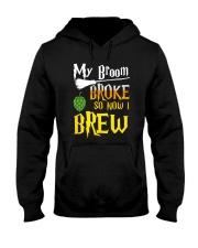 My broom broke so now i brew Hooded Sweatshirt thumbnail