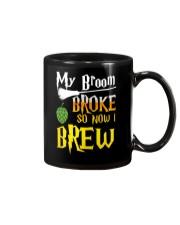 My broom broke so now i brew Mug thumbnail