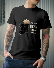 Drink beer from here Classic T-Shirt lifestyle-mens-crewneck-front-6