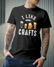 I LIKE CRAFTS Classic T-Shirt lifestyle-mens-crewneck-front-6